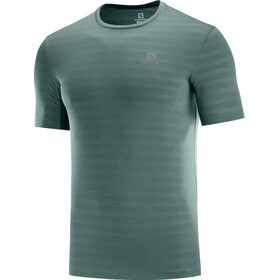 Salomon XA Camo T-Shirt Herren balsam green/heather